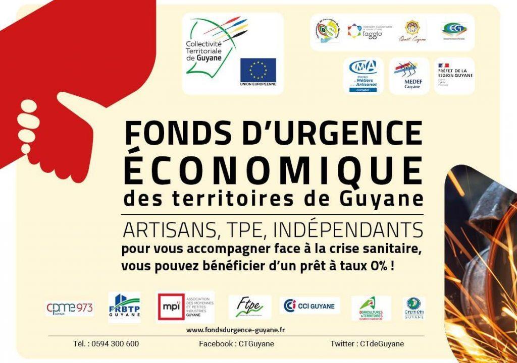 Fonds d'Urgence Economique des territoires de Guyane