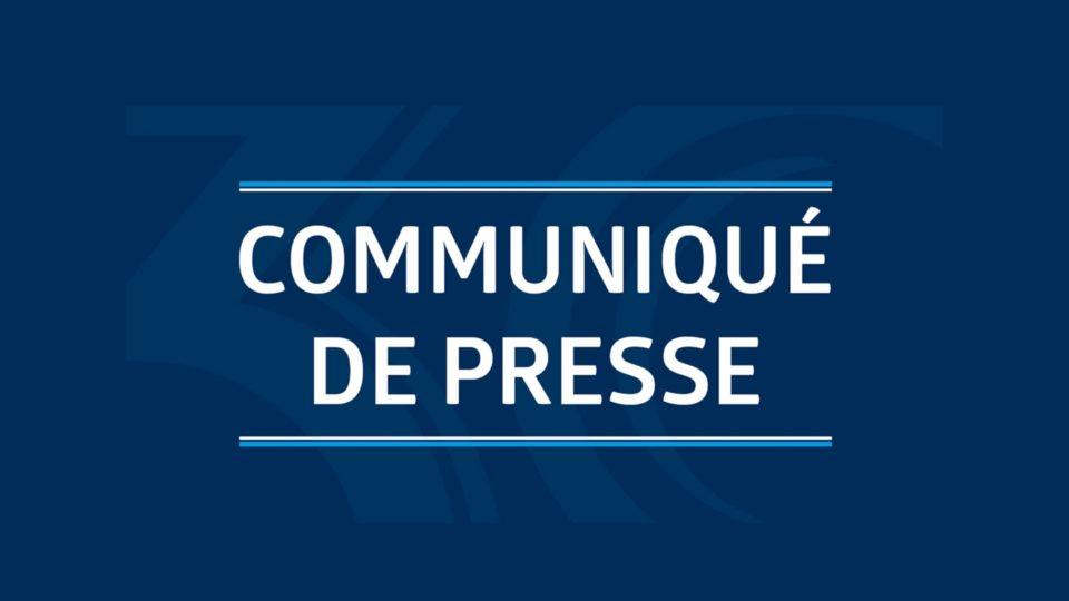 COVID 19 – COMMUNIQUE DE PRESSE CMA FRANCE