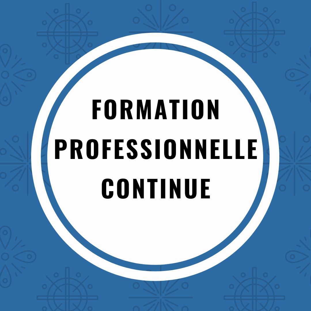 Catégorie: Formation professionnelle continue