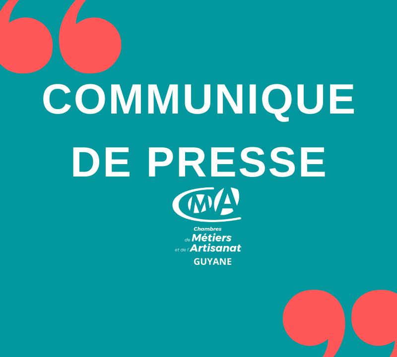 Report des élections à la CMAR Guyane