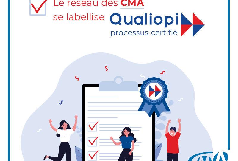 Qualiopi : la certification qualité de l'offre de formation des Chambres de Métiers et de l'Artisanat