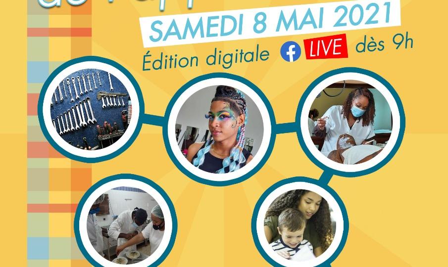 Les olympiades de l'apprentissage … c'est le 8 mai ! Entièrement en digital !!