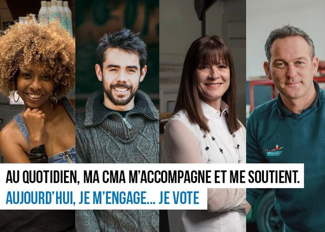 ELECTIONS CMA 2021 du 1er au 14 Octobre 2021